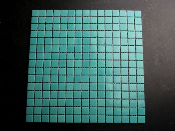 Glas Mozaiek Tegels : Glasmozaiek turquoise cm tegels tegelgemak