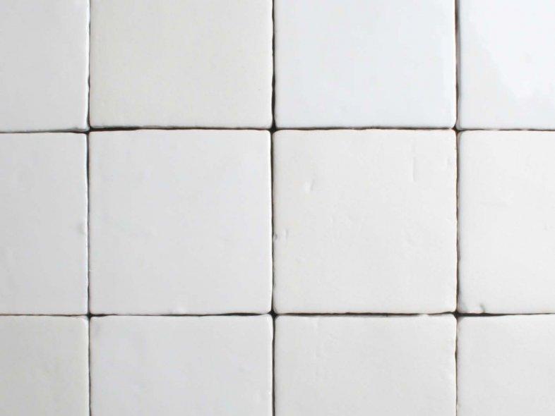 Ambachtelijke Glansmat Wit Mix 10x10 Cm Tegelgemak