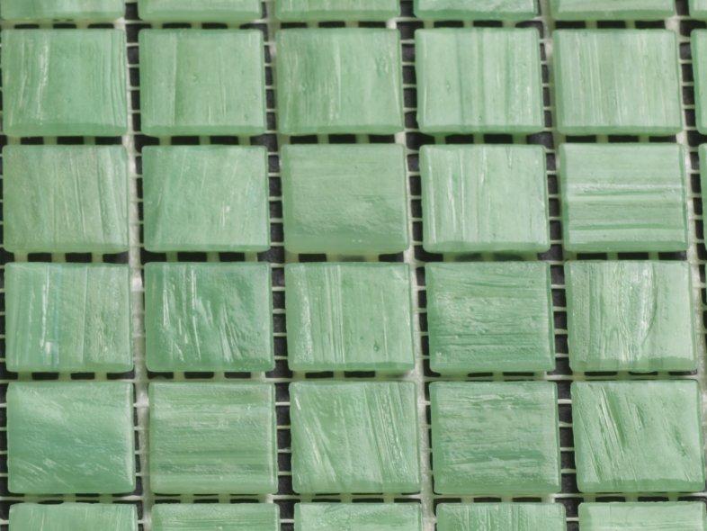 Glas Mozaiek Tegels : Mozaiek licht groene witte nevel tegel tegelgemak