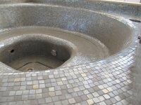 Zwembad / Whirlpool met mozaiek - Tegelgemak